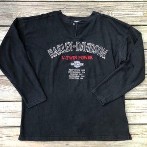 Vintage Harley Davidson Motorcycles Shirt V-Twin